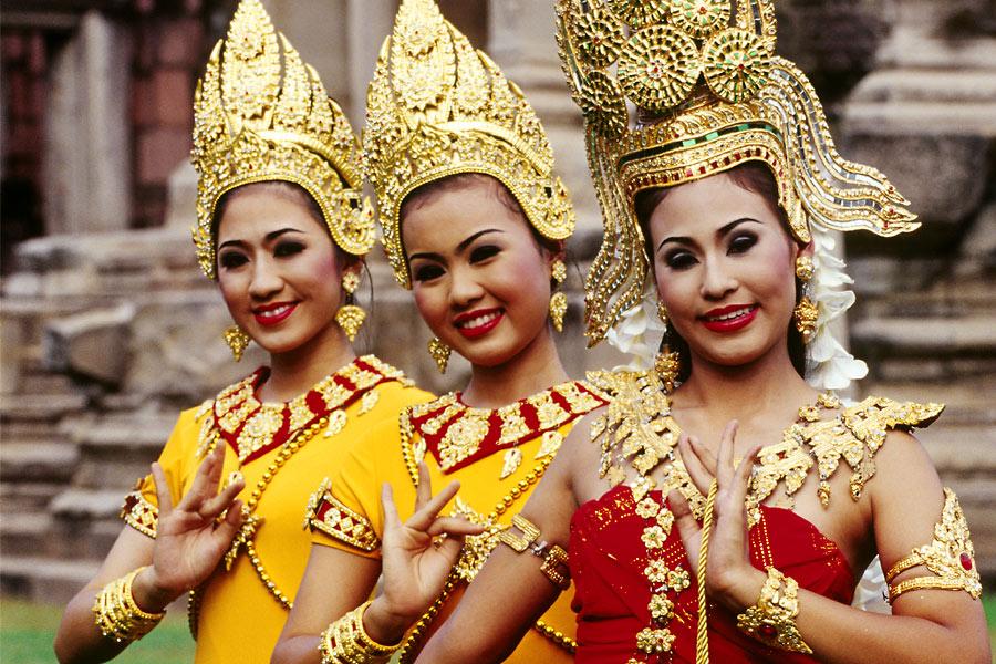 Thailändische Leute in Australien